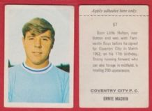 Coventry City Ernie Machin 57